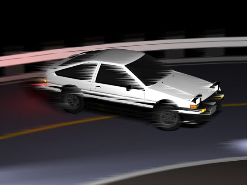 initial d world pictures gallery toyota ae86 sprinter trueno. Black Bedroom Furniture Sets. Home Design Ideas