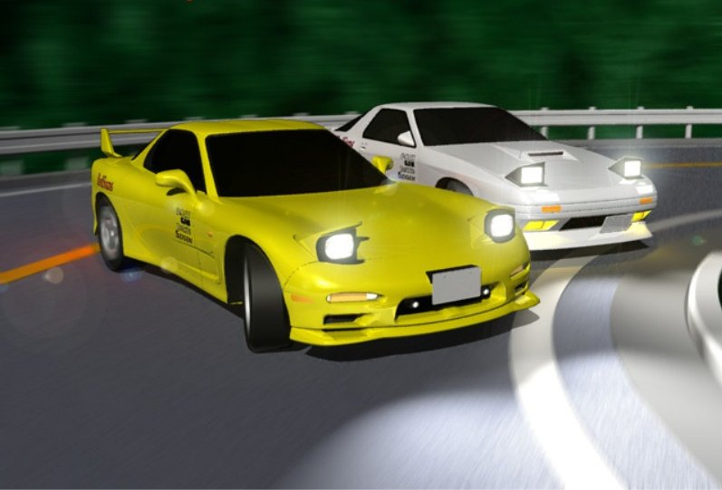 Initial D World - Pictures Gallery - Mazda Efini RX-7 FD3S
