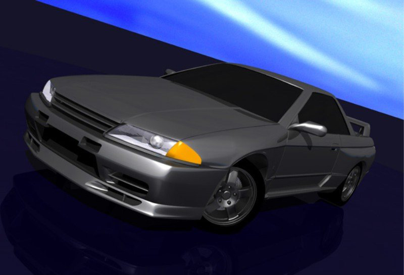 Initial D World Pictures Gallery Nissan Skyline Gt R V