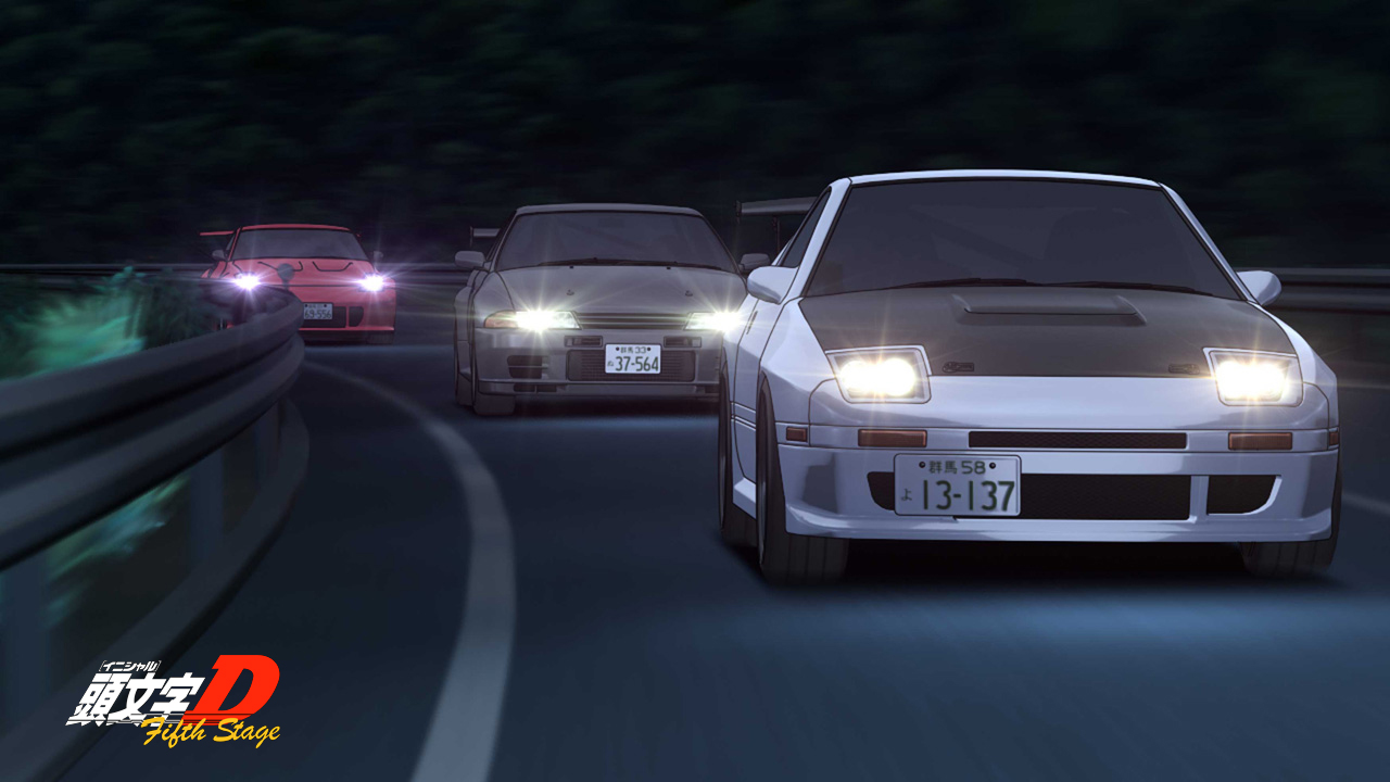 initial d fifth stage 14 vostfr