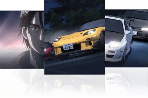 Initial D Fifth Stage NOW!