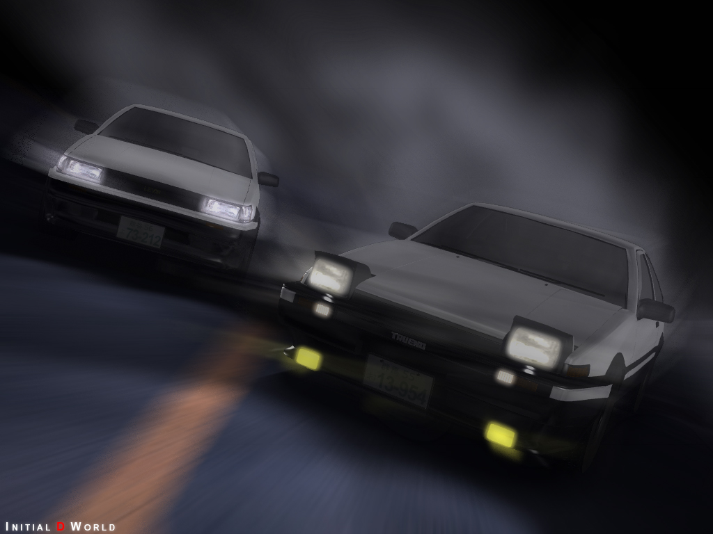 initial d world wallpapers section